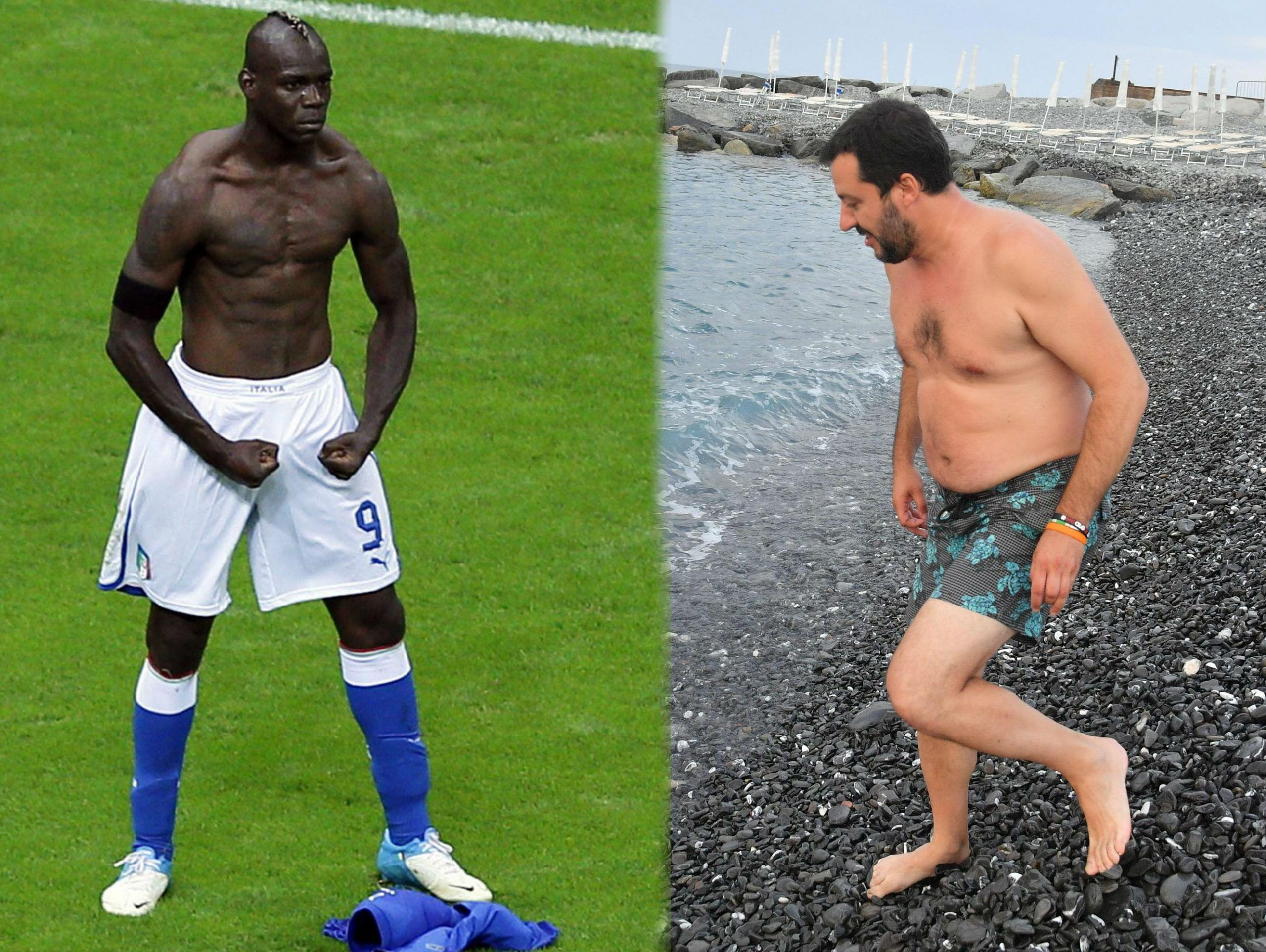 BALOTELLI VS SALVINI