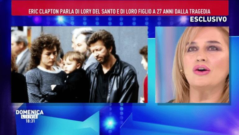 Domenica Live, Lory Del Santo ricorda il figlio Conor: 'Prima del funerale, un biglietto…'