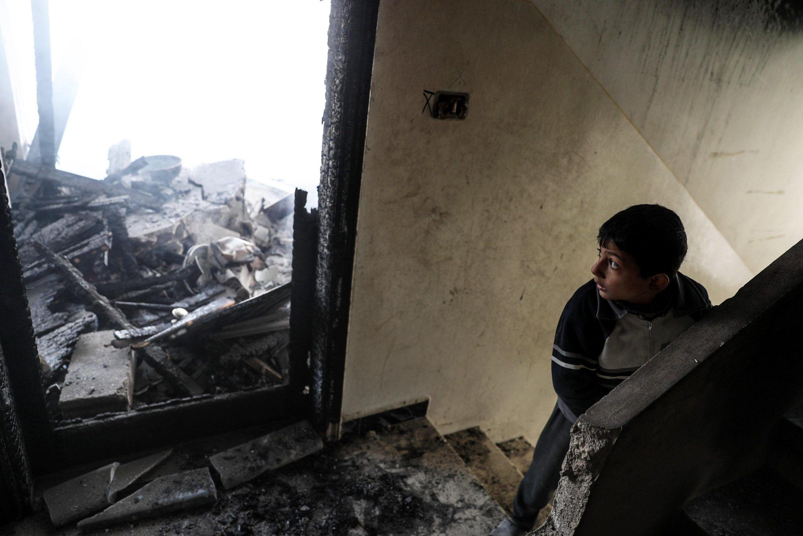 raid aerei nella Ghouta orientale