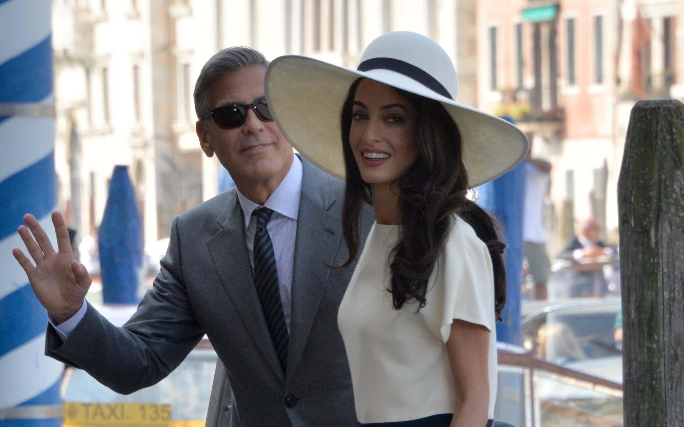 Amal Alamuddin su George Clooney e i figli