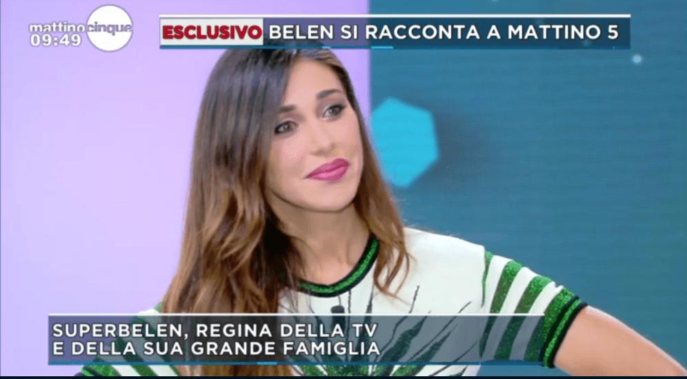 Belén Rodriguez, l'intervista a Mattino Cinque