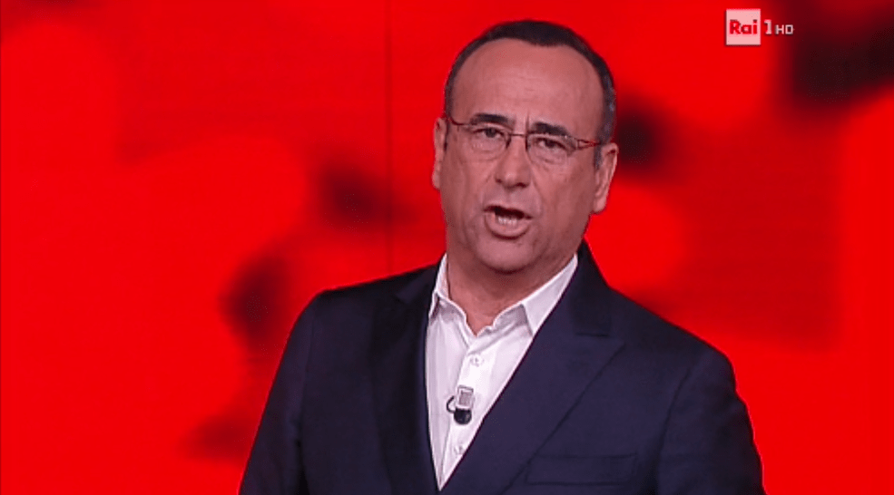 Carlo Conti ricorda Fabrizio Frizzi a L'Eredità
