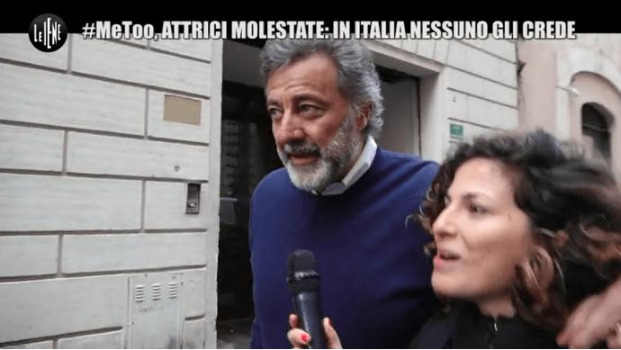 Le Iene, Luca Barbareschi deride il movimento #MeToo: 'Roba da cretini'
