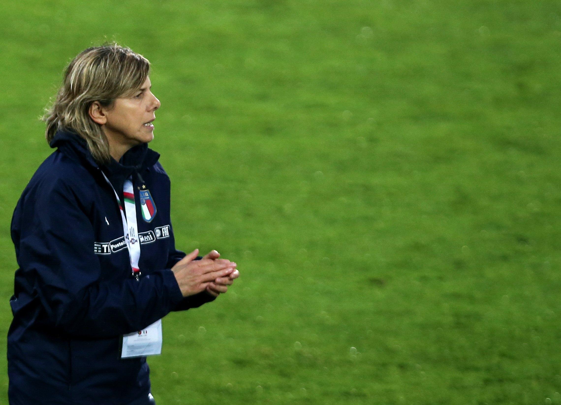 Nazionale Femminile di calcio Milena Bertolini.
