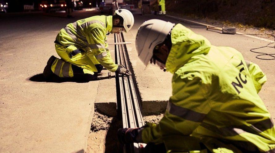 strada elettrica Svezia per ricarica auto