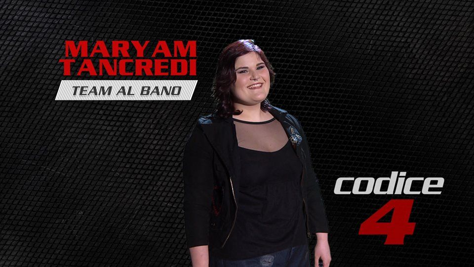 Maryam Tancredi vincitrice the voice of italy