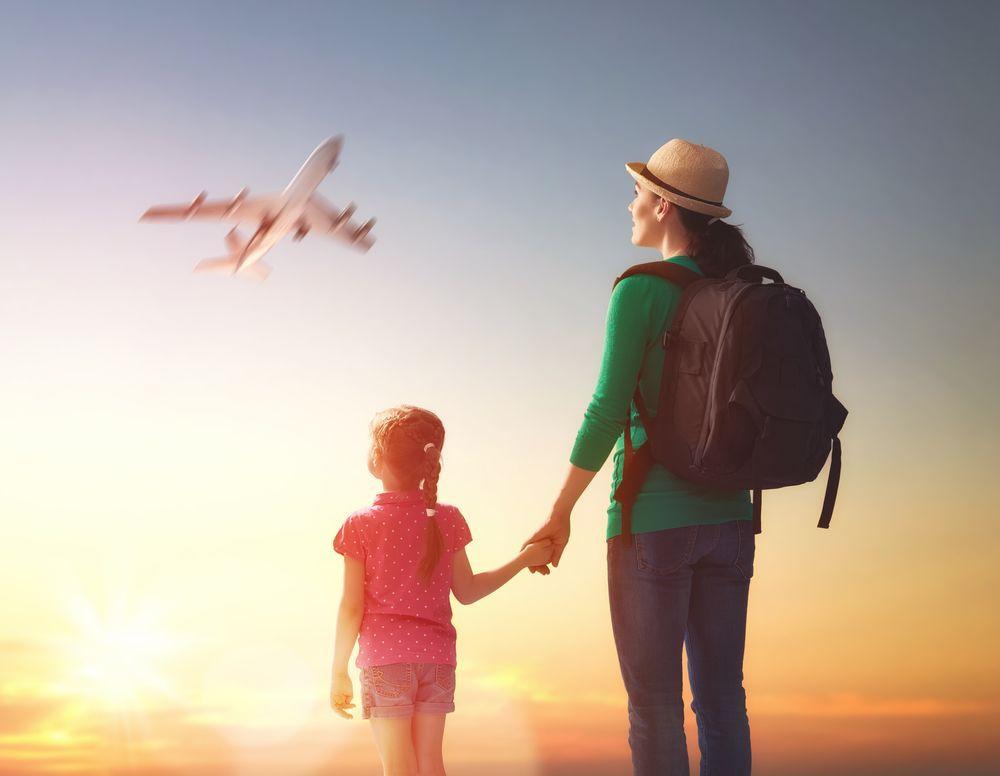 Viaggiare soli con bambini