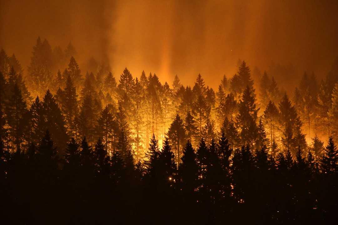 incendio Columbia River Gorge