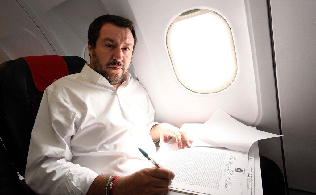 Matteo Salvini riservato