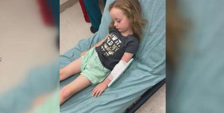 bambina paralizzata da una puntura di zecca