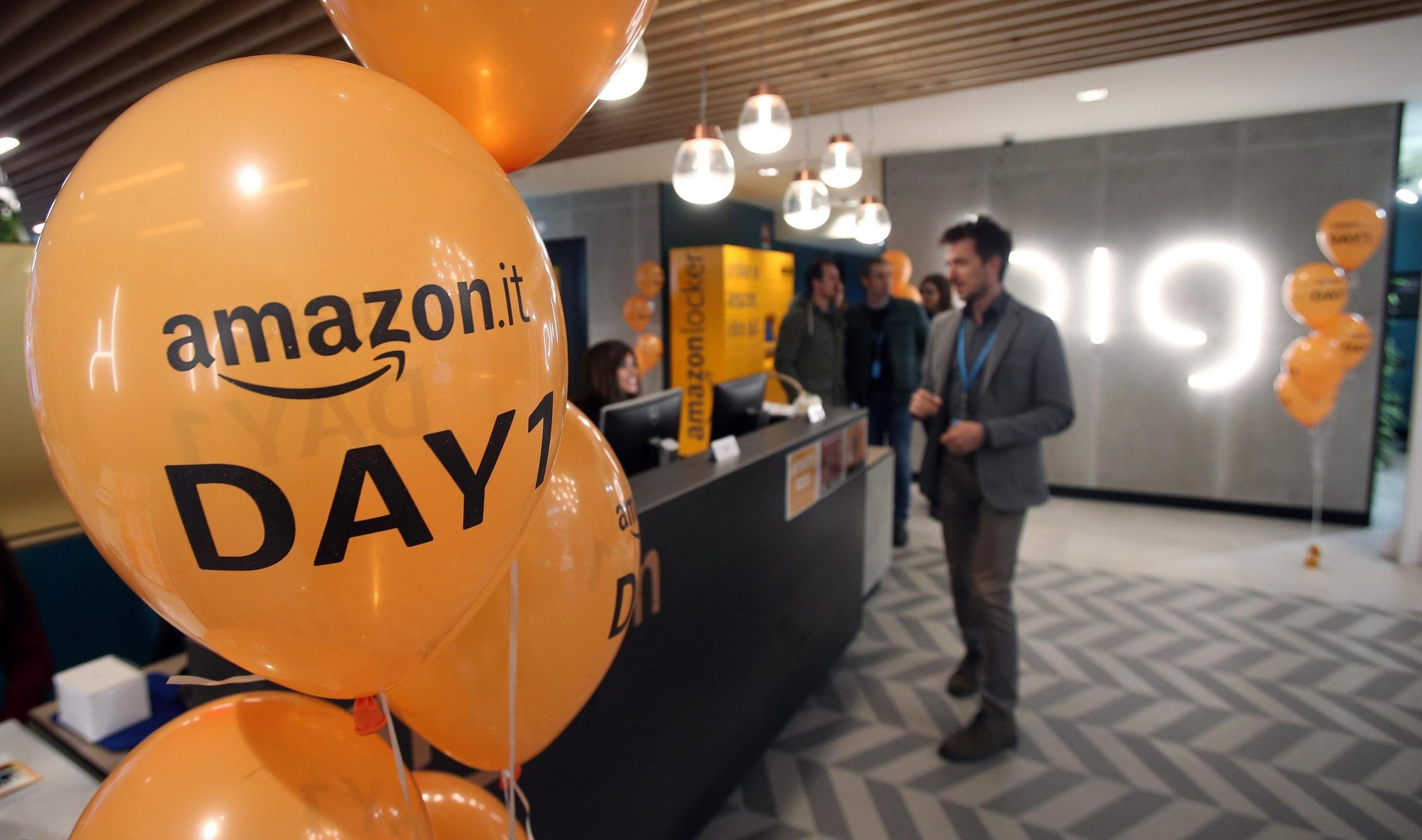 Amazon assume in Italia