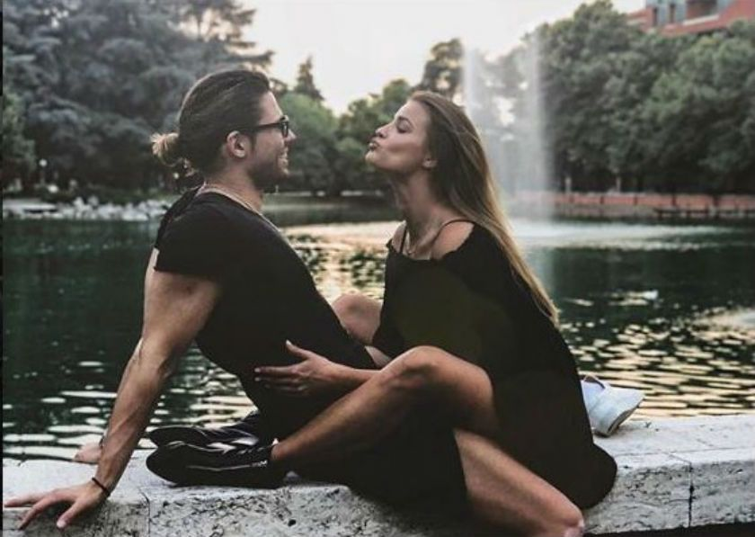 Luca Onestini matrimonio con Ivana Mrazova