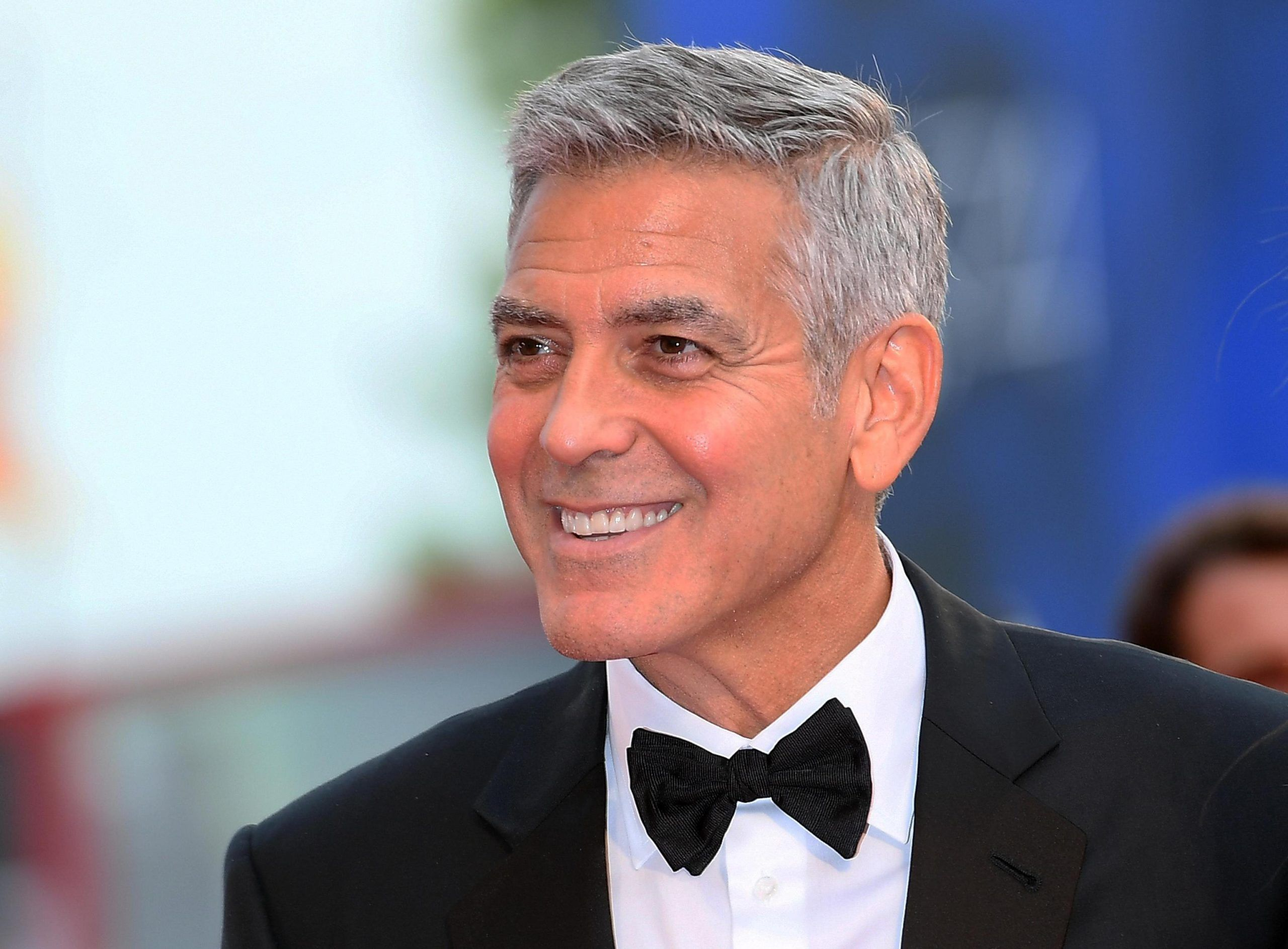 George Clooney incidente stradale