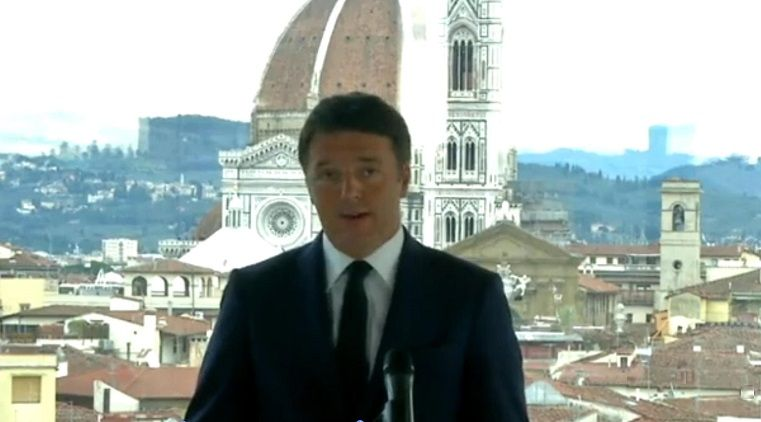Renzi in mediaset con documentario su firenze