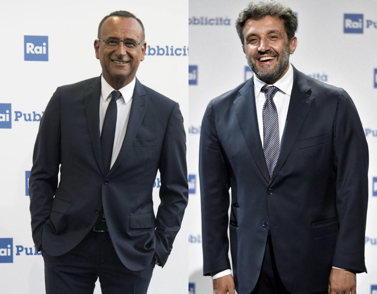 Carlo Conti offre aiuto a Flavio Insinna: 'Se hai dubbi bussa'