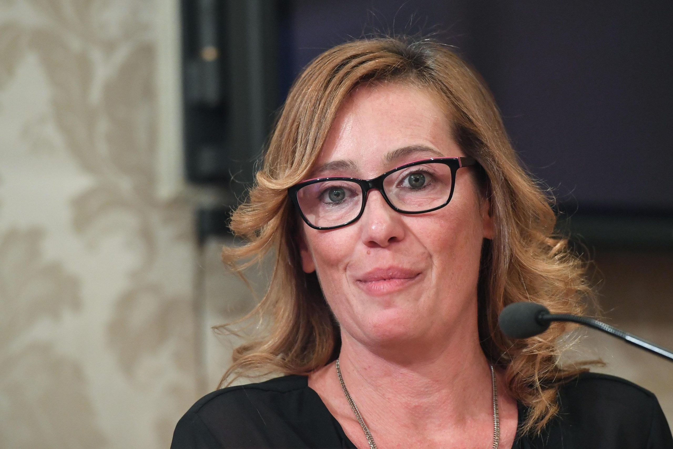 Ilaria Cucchi a Venezia 'Il film su mio fratello lo dedico a Salvini'