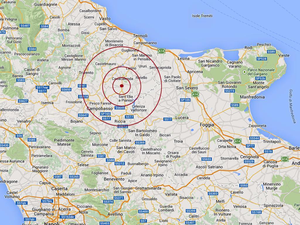 Terremoto: scossa in Molise