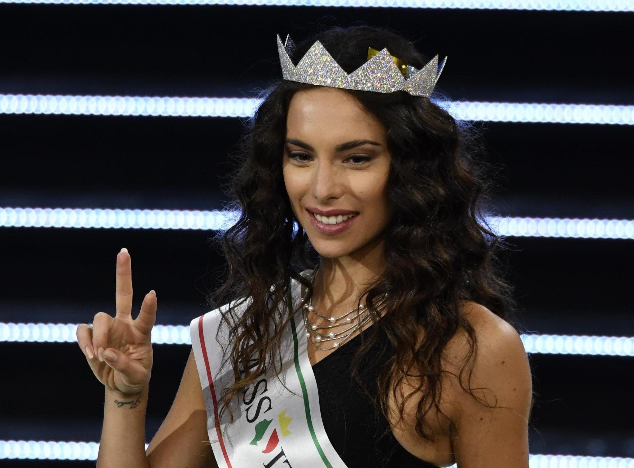 Final of 2018 Miss Italia
