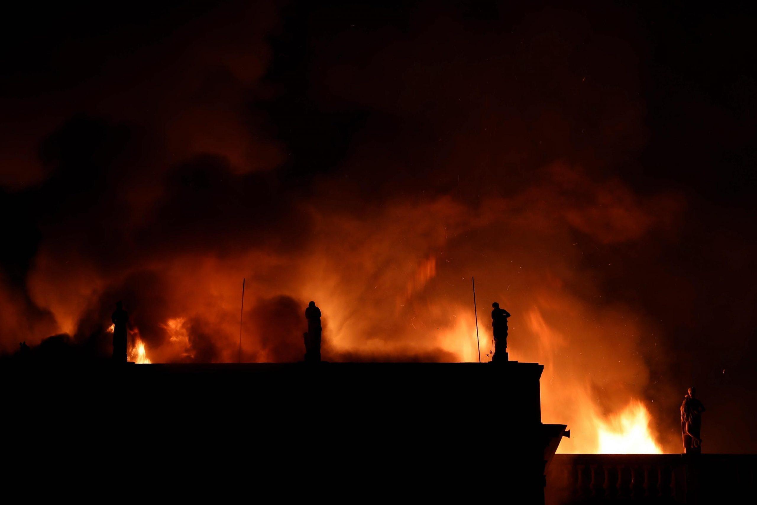 Incendio a Rio distrutto uno dei più importanti musei del Brasile