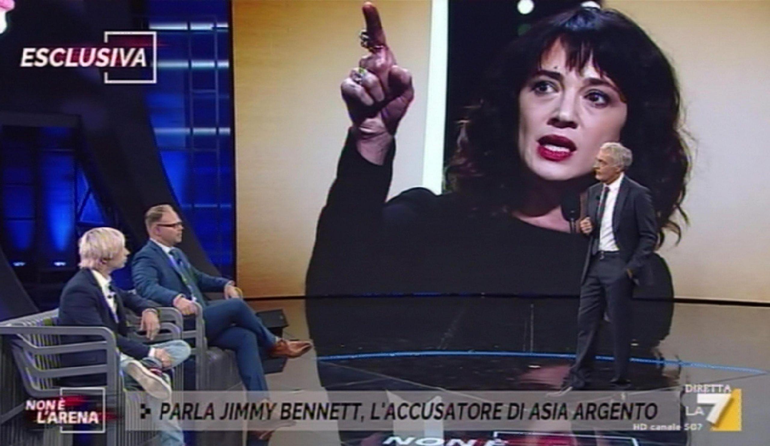 Massimo Giletti sull'intervista a Jimmy Bennett: 'Ho dubitato della sua spontaneità guardava sempre l'avvocato'