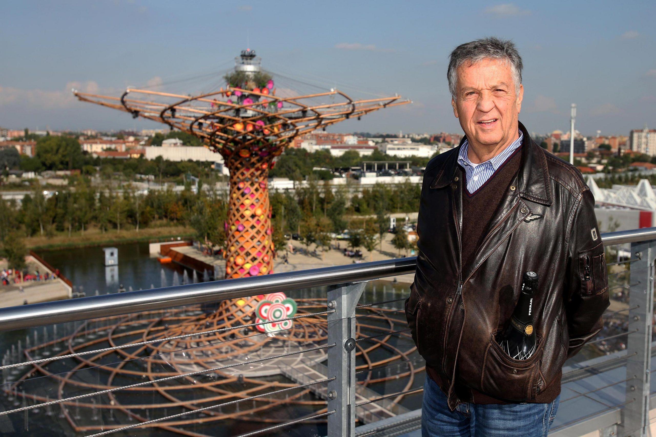 Renato Pozzetto visita Expo