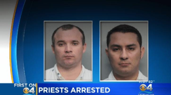 preti arrestati