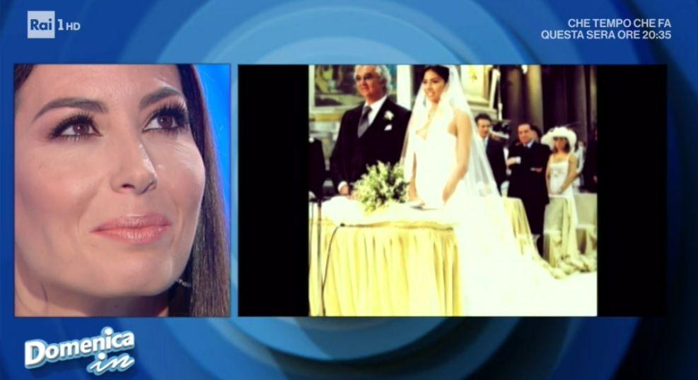 Domenica In, Elisabetta Gregoraci: 'Flavio Briatore mi ha voluto bene, poi si è perso'