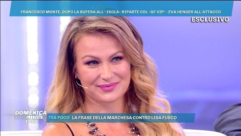 Eva Henger su Francesco Monte al GF VIP 3