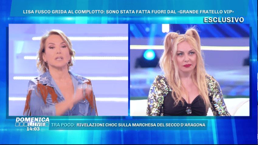 GF VIP 3, Lisa Fusco: 'Eliminata per un complotto, non farò più tv'