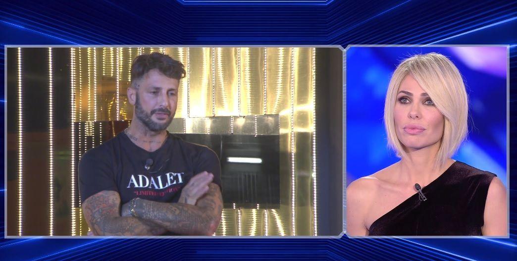 Fabrizio Corona: 'Protagonista del GF VIP perché Ilary Blasi, senza di me, non ce la fa'