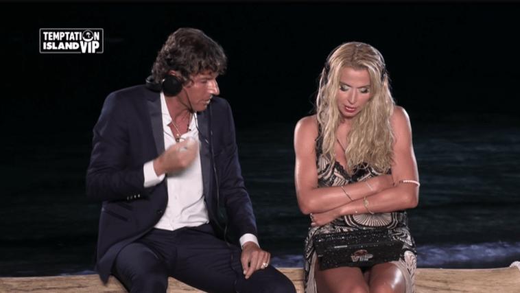 Temptation Island VIP, Valeria Marini lascia Patrick: 'Voglio un uomo da fare principe'