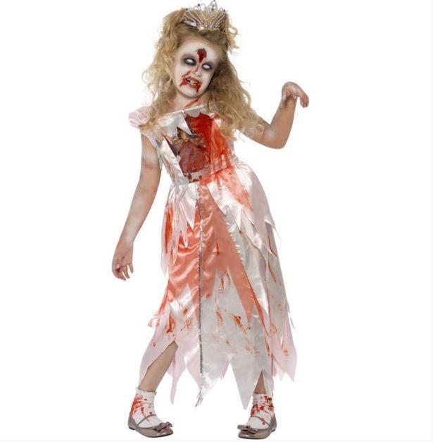 abito principessa zombie