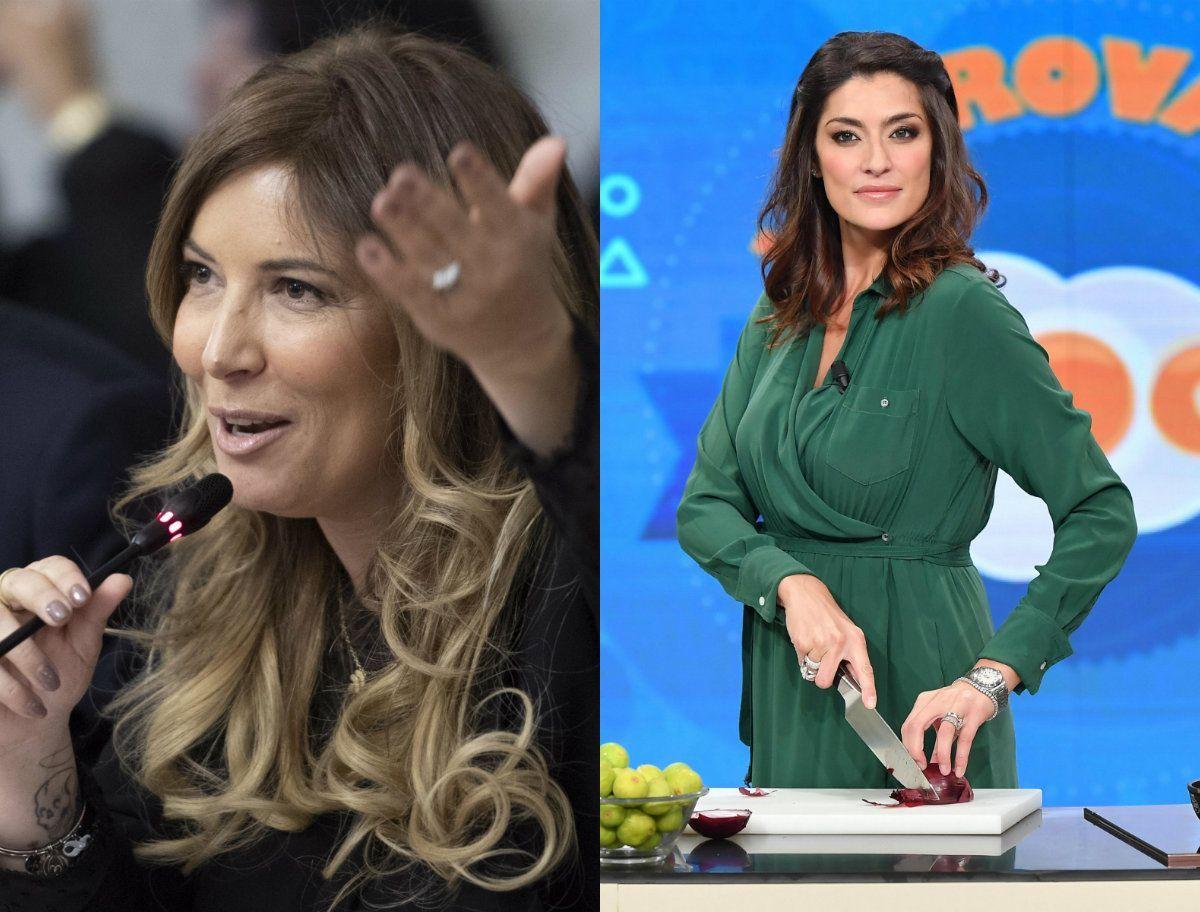 Selvaggia Lucarelli contro Elisa Isoardi per la foto ritoccata con Sandro Mayer: 'Egocentrica'