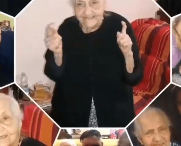 Maria, la nonnina sarda che spegne 107 candeline