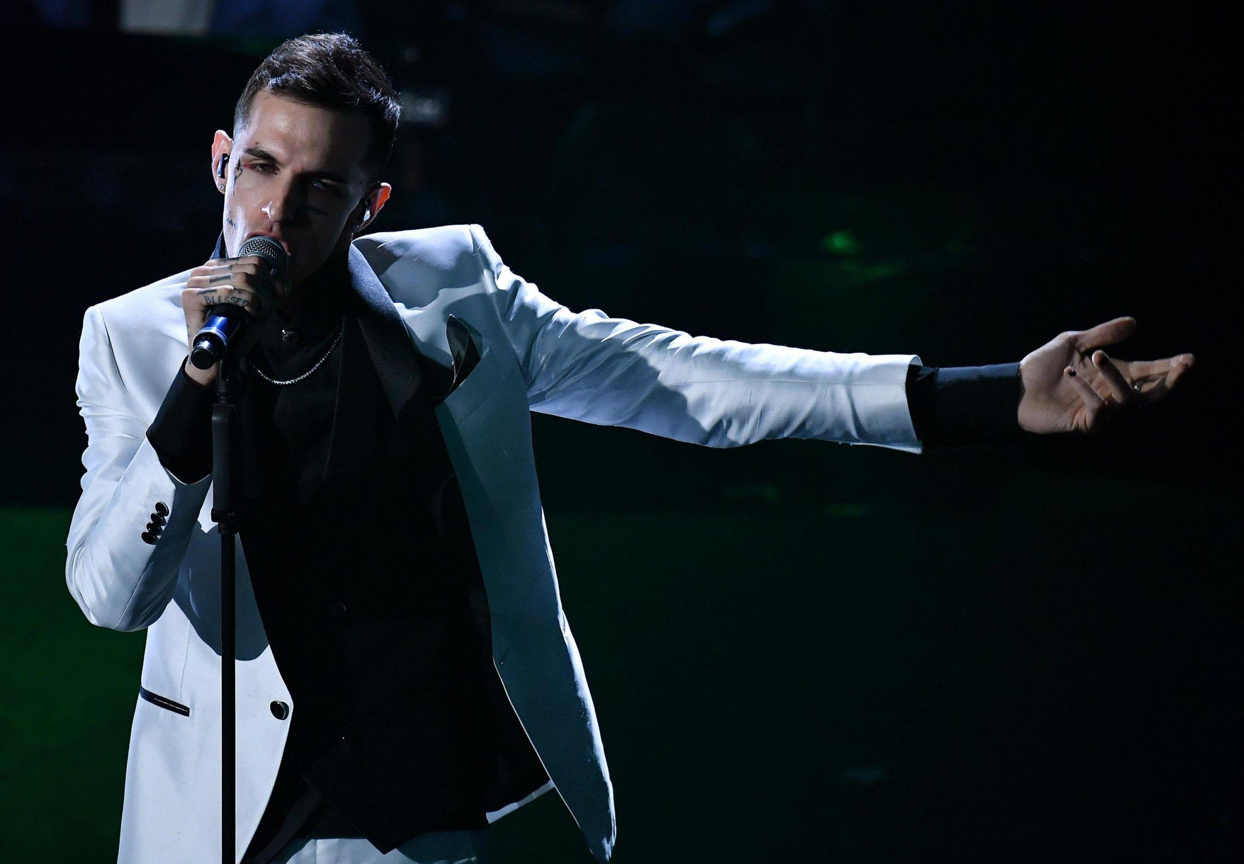 Achille Lauro The Voice X Factor