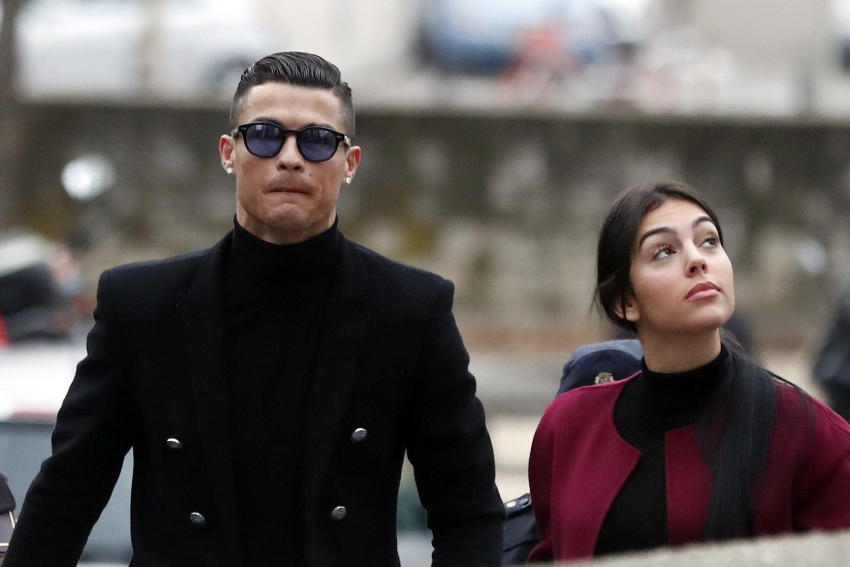 Cristiano Ronaldo lutto