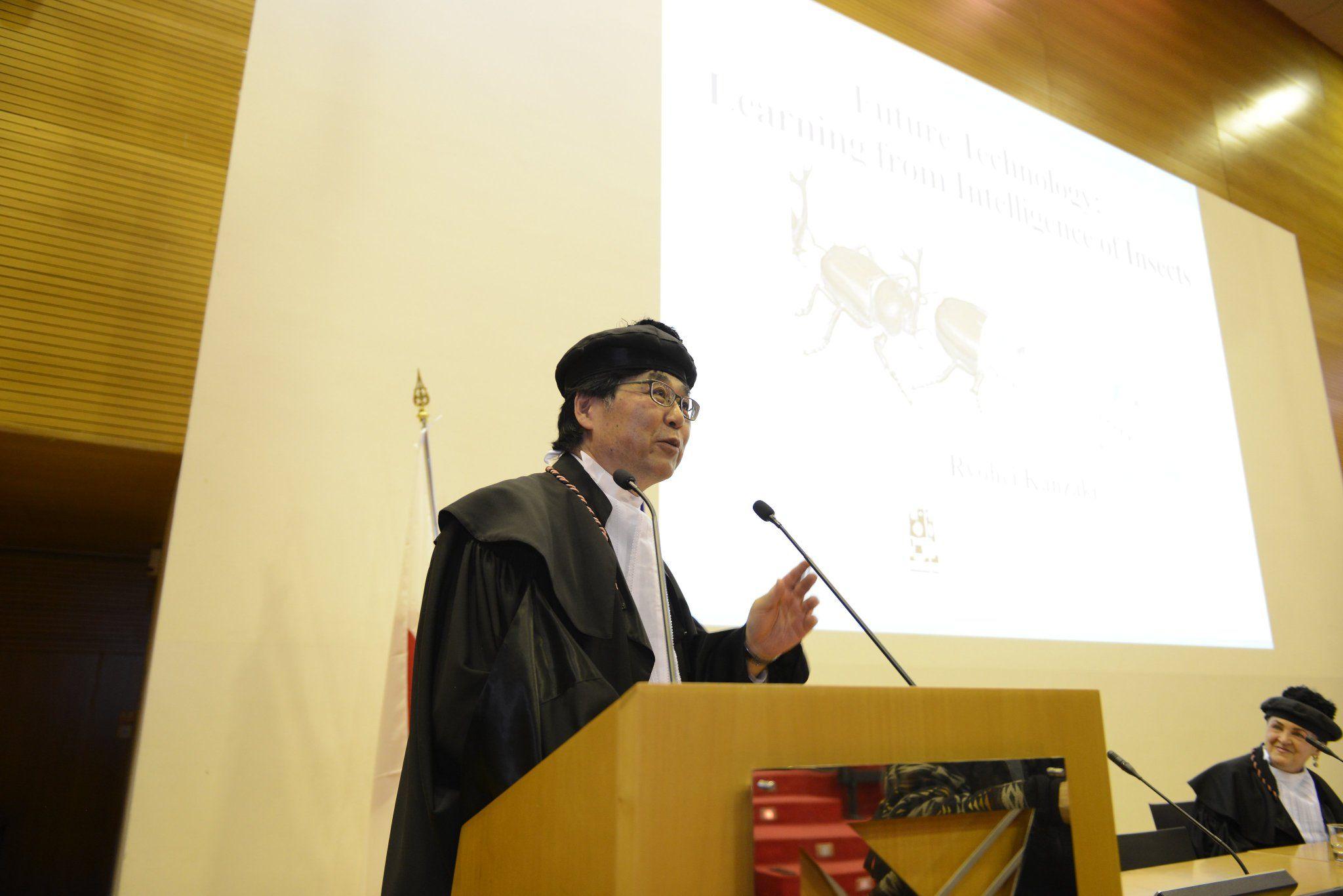 Università Milano-Bicocca: Laurea honoris causa a Ryohei Kanzaki