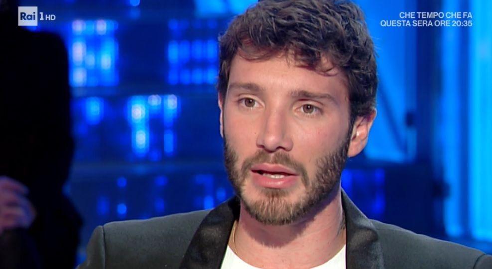 Domenica In, Stefano De Martino: 'Belén? L'amore non si spreca mai'