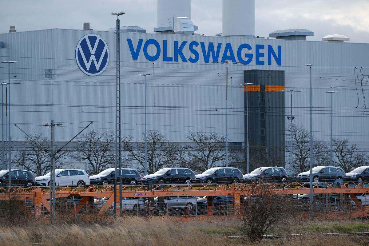 Uno stabilimento Volkswagen