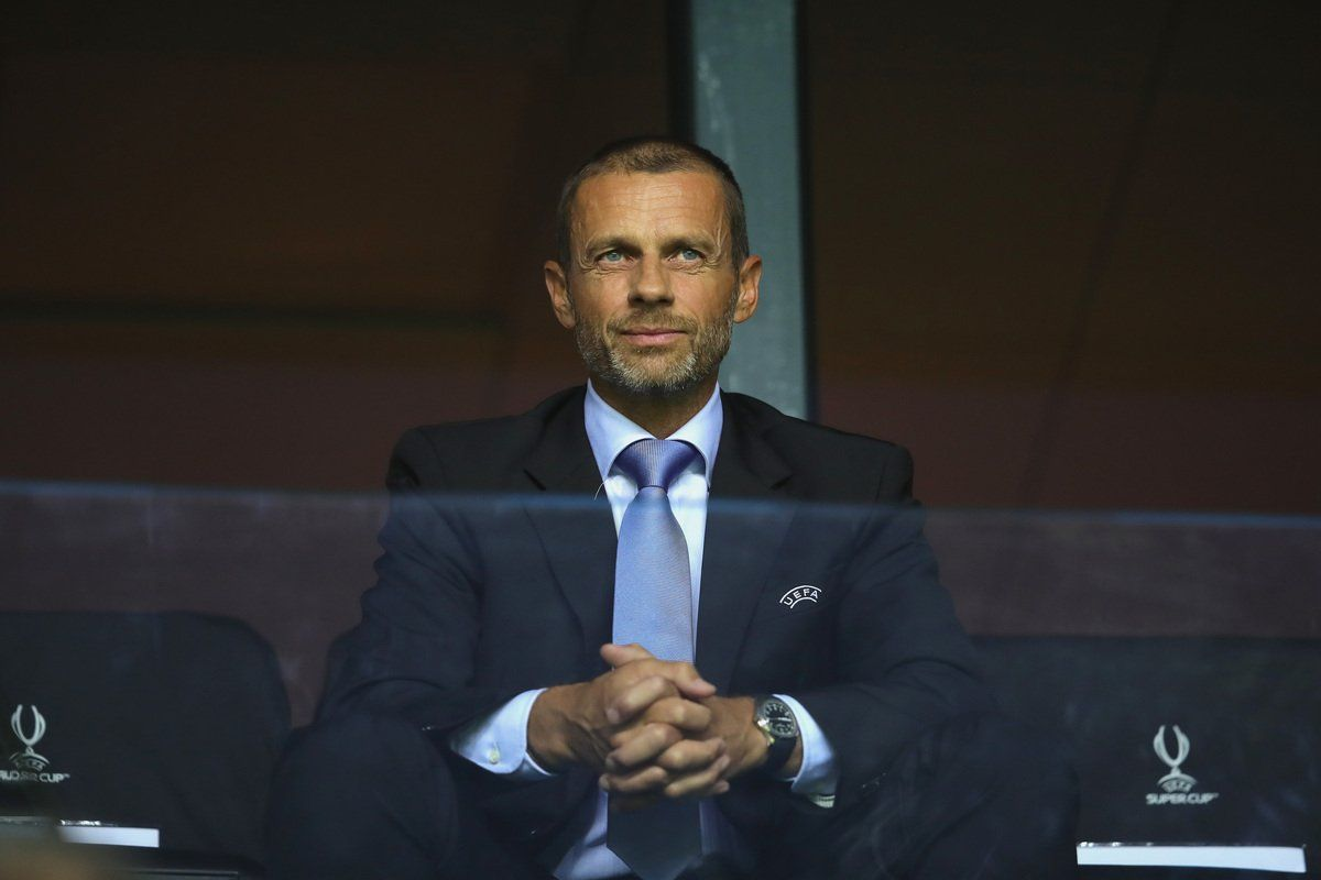 """UEFA, il presidente Ceferin: """"Covid-19 peggio della Seconda Guerra Mondiale"""""""
