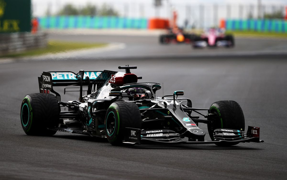 Hamilton nel GP Ungheria