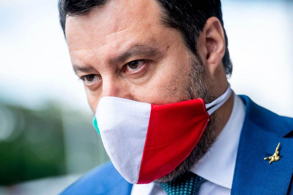 Matteo Salvini immuni