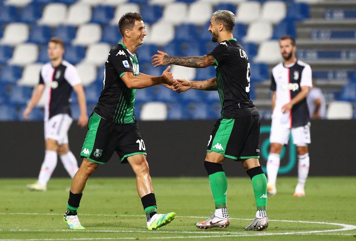 Juventus fermata dal Sassuolo, la Lazio non ne approfitta