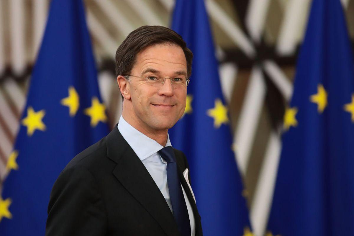 Premier olandese Mark Rutte