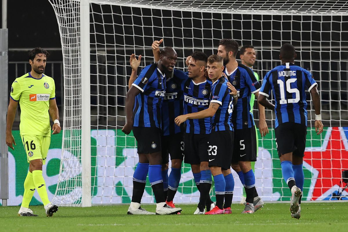 Europa League, l'Inter batte il Getafe e vola ai quarti