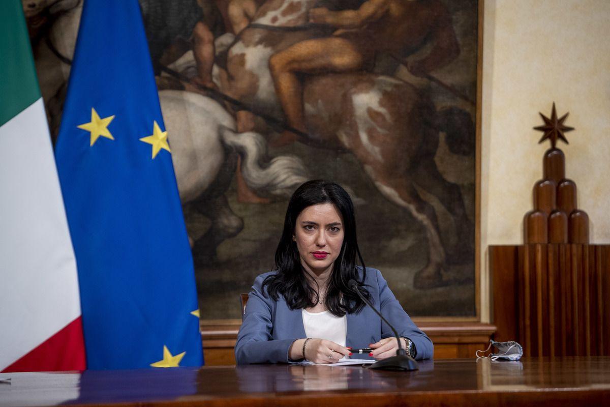 La ministra dell'istruzione, Lucia Azzolina