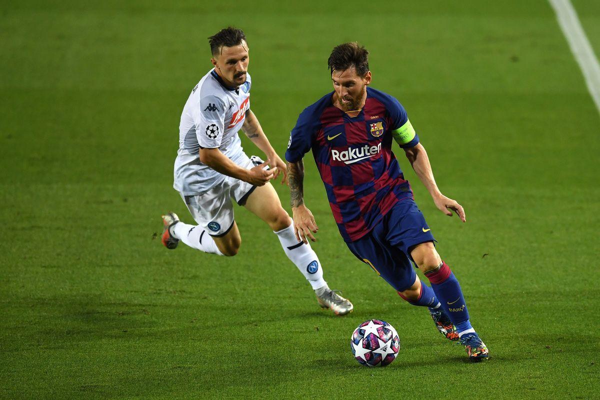 Champions League: troppo Barcellona, il Napoli dice addio all'Europa
