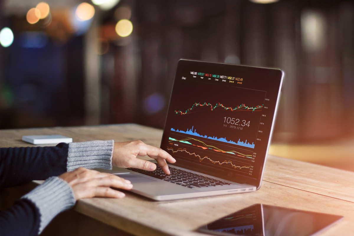 grafico di trading forex