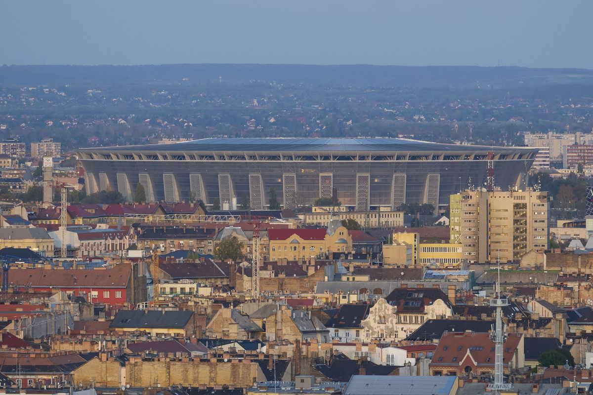 puskas arena di budapest