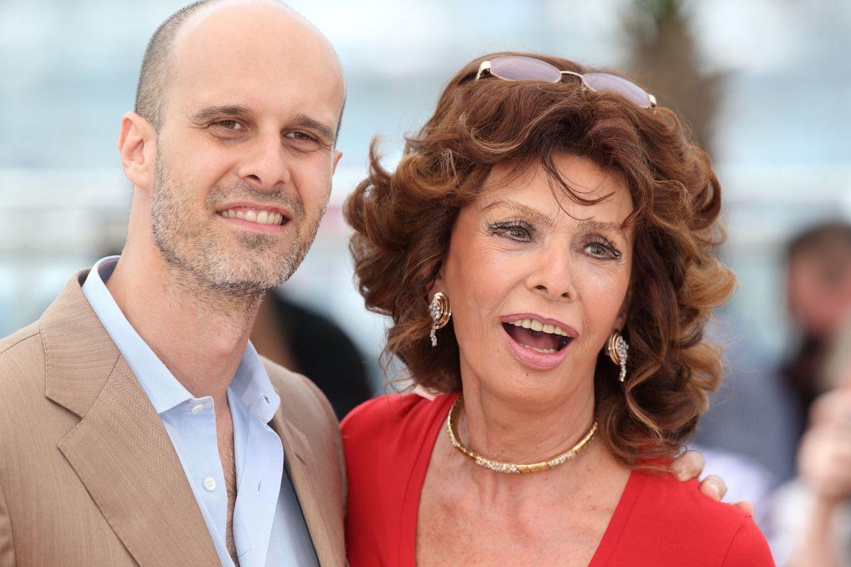 Edoardo Ponti e Sophia Loren